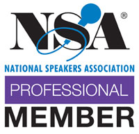 NSA National Speakers Association Professional Member